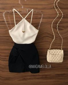 66 ideas for skirt outfits going out simple - Cute Outfits Club Outfits For Women, Teenage Outfits, Teen Fashion Outfits, Trendy Clothes For Women, Mode Outfits, Trendy Outfits, Bar Outfits, Woman Outfits, Sporty Outfits