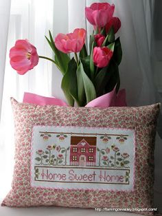 Cottage Home Sweet Home  from Country Cottage Needleworks