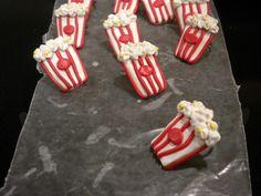 Popcorn clay - Neckerchief slides