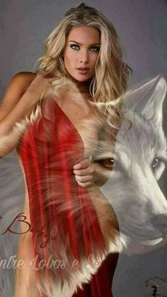 Beautiful Wolves, Beautiful Dogs, Wolves And Women, Fantasy Wolf, Wolf Stuff, Wolf Pictures, Wolf Girl, Wolf Howling, Beautiful Lingerie