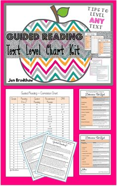 FREEBIE! Guided Reading: How to level ANY text for guided reading. Checklists forms. #guided #reading #freebie