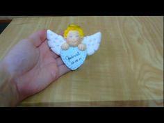 (AULA 6) Curso de Biscuit para Iniciantes -  Lembranças para Bebês - Anj...