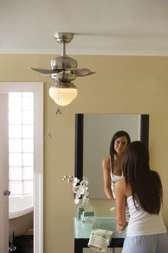 1000 Images About Bathroom Ceiling Fan Ideas On Pinterest
