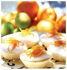 Citrus cupcake with lemon icing recipe | Huletts Sugar, South Africa