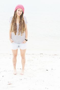 it just goes to show that your shorts don't have to come up to your panty line in order for you to look great! Dreadlock Hair, Locs, Beautiful Dreadlocks, Dreads Girl, Dream Hair, Rapunzel, Looks Great, Hair Makeup, Hair Beauty
