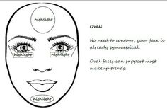 For oval shaped faces
