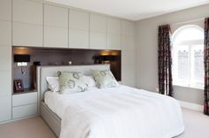 Beautifully designed bespoke fitted bedroom furniture, both traditional and contemporary. Fitted Bedroom Furniture, Fitted Bedrooms, Ikea Bedroom, Home Decor Bedroom, Wardrobe Design Bedroom, Modern Bedroom Design, Master Bedroom Design, Bed Design, Bedroom Cupboards