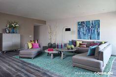 Sala : Salones modernos de MARIANGEL COGHLAN