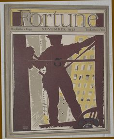 window washer... Fortune cover 11/1932