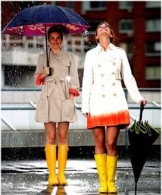 Looks de chuva: ARRASE!