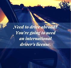 Have a #Friday and keep this in mind for when you're #driving abroad! #travel #TGIF