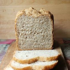 Bread machine bread on Pinterest | Rye Bread, Bread Machines and King ...