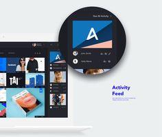 Interaction Design: Behance Desktop App Concept