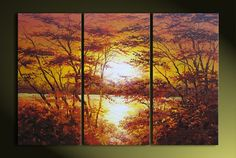 Hand-painted Landscape Oil Painting