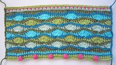 knit & crochet design: Lily Pond CAL - Block Six