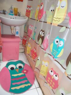 My Owl Theme Bathroom