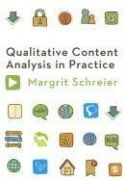 Description: Margrit Schreier takes students step-by step through: - creating a coding frame - segmenting the material - trying out the coding frame - evaluating the trial coding - carrying out the main coding - what comes after qualitative content analysis - making use of software when conducting qualitative content analysis. Each part of the process is described in detail and research examples are provided to illustrate each step.