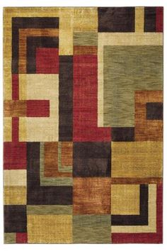 Overleigh Area Rug - Synthetic Rugs - Contemporary Rugs - Rugs | HomeDecorators.com