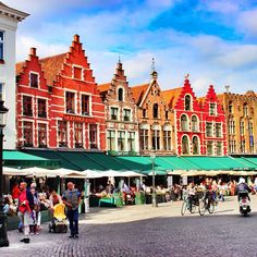 Beautiful rooflines in Brugge
