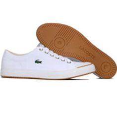 Lacoste Womens L33 Canvas W (white / gum) 14SRW7265-J61 - $79.99