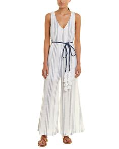 Sweatwater Womens Long Sleeve Bohemian Two Piece Sets Stripe Short Rompers Jumpsuits