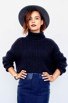 YouTube star and our guest editor Ingrid Nilsen shares her favorite short hair looks to try in 2016.