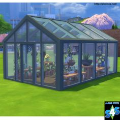 Sims 4 Updates: Simista - Objects, Decor : Always Sunny Glasshouse, Custom Content Download!