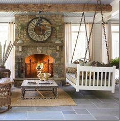 Superbe Living Room Swing! Love It!