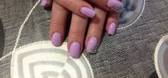 Clients own nails with gel polish design