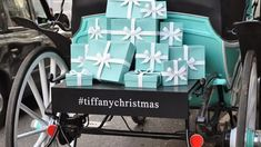There is a café opening soon inside the Tiffany & Co. on Fifth Avenue Tiffany Blue, Baby Strollers, Children, Christmas, Breakfast, Travel, Tiffany Blue Color, Baby Prams, Young Children
