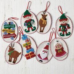 North Pole Ornaments