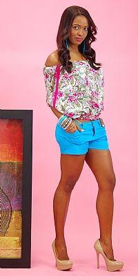 Julissa Featuring Off Shoulder Summer Outfit