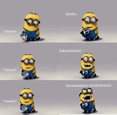 I've decided that I'm a Minion. Because I would SO do that.