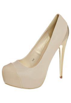 Sugarfree Shoes - IZA - High Heel Pumps - nude