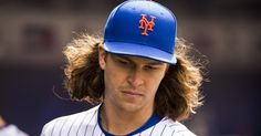 Back, not baby, cause for Jacob deGrom's early exit from Mets' home opening win against Phillies #inewsphoto