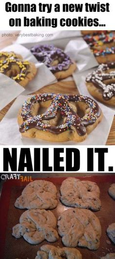 cookie pretzel nailed it