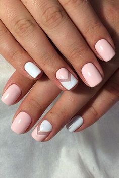 Comment enlever le vernis semi permanent et pose vernis après rose et blanc , Nägel, Short Nail Designs, Simple Nail Designs, Nail Art Designs, Nails Design, Pedicure Designs, Manicure Ideas, Nail Tips, Tropical Nail Designs, Best Nail Polish