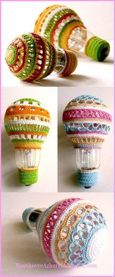 новогодние игрушки своими руками из лампочек