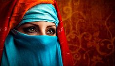 Beautiful Muslim Girl Wearing Burqa Closeup - Download From Over 53 Million High Quality Stock Photos, Images, Vectors. Sign up for FREE today. Image: 46514394