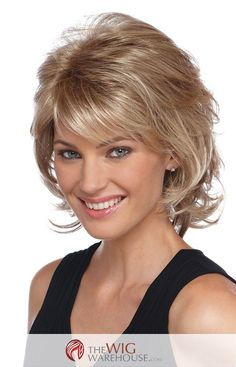 Offered in a number of natural-toned colors, the Angela wig is a darling medium-length shag wig. With a gentle layered flip that offers a number of choices in styling, this wig can take you from daytime chic to nighttime flirt. Designed with synthetic hair, the Angela is ideally suited to highlight the features of heart, oval, oblong, and diamond-shaped faces. The layers and subtle curl add a definite fun appeal to this easy-to-care for wig. The Pure Stretch Cap offers the perfect fit…