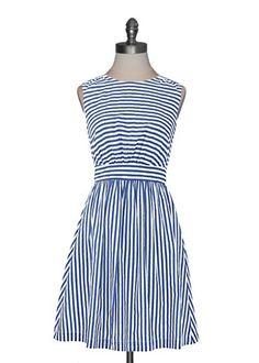 Sailor Stripes Dress//