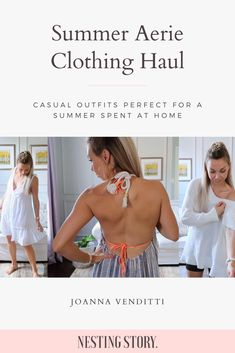 Casual Outfits Perfect For A Summer Spent At Home