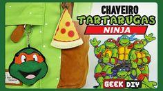 Chaveiro Tartarugas Ninja   DiY Geek
