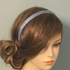 Silk Covered Headband Wedding Veil, Blue Wedding, Blusher, Wedding Themes, Fascinator, Silk, Cover, Beautiful, Etsy