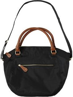 Women's Zip-Top Totes | Old Navy SALE $20.00 black, larger tote!