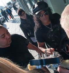 Slash out and about in Sweden