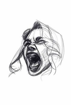 to draw screaming faces tutorial by Javi Can Draw. Female character expression How to draw screaming faces tutorial by Javi Can Draw. How to draw screaming faces tutorial by Javi Can Draw. Face Drawing Reference, Female Face Drawing, Drawing Faces, Art Reference Poses, Drawing Drawing, Man Face Drawing, Anatomy Drawing, Anatomy Reference, Figure Drawing Female