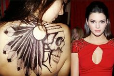 Tattoos for Women Kendall Jenner