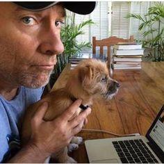 Meet Mike Rowe& New Puppy, Freddie Mike Rowe, Name Suggestions, Social Advertising, Working People, Love To Meet, New Puppy, Good Looking Men, Bingo, How To Look Better