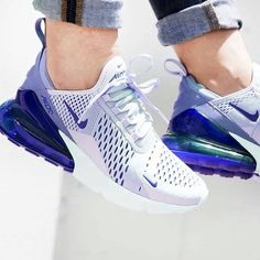 Green Nike Air Max 270 I wear green shoes on days when I'm feeling mean. Find Men's & Women's Air Max 270 Shoes and other classic Nike Air Max shoes. i just cant get enough of these addicted! i just cant get enough of these addicted! My favorite color Moda Sneakers, Cute Sneakers, Sneakers Nike, Ladies Sneakers, Purple Sneakers, Ar Max, Sneaker Store, Hype Shoes, Baskets Nike